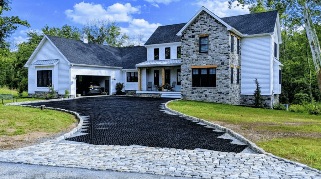 A Better Alternative to Typical Gravel Driveways